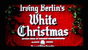 White Christmas opening title